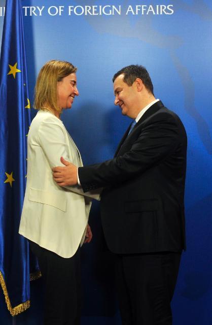 Visit by Federica Mogherini to Belgrade