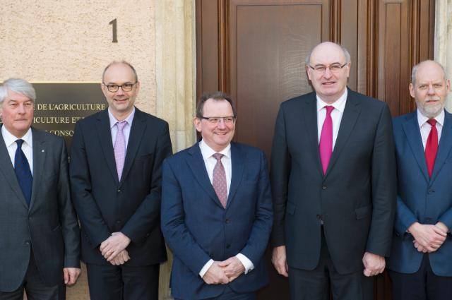 Visit by Phil Hogan, Member of the EC, to Luxembourg