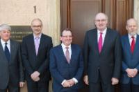 """Illustration of """"Visit by Phil Hogan, Member of the EC, to Luxembourg"""""""