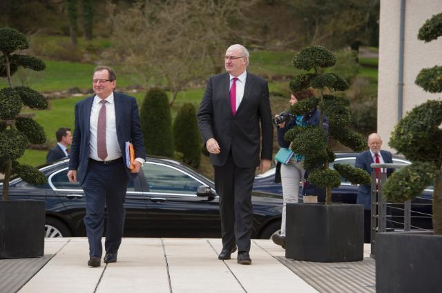 Visite de Phil Hogan, membre de la CE, au Luxembourg
