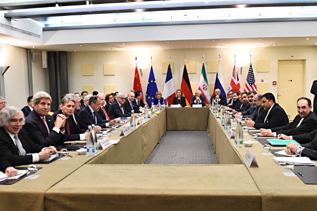 Participation de Federica Mogherini, vice-présidente de la CE, aux négociations avec l'Iran sur le nucléaire, à Lausanne