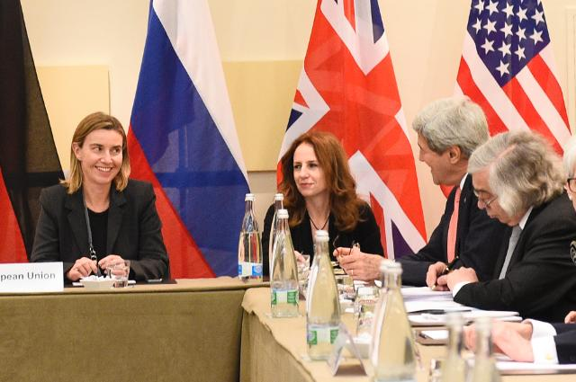 Participation of Federica Mogherini, Vice-President of the EC, in the nuclear negotiations with Iran, in Lausanne
