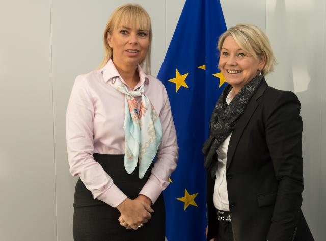 Visit of Monica Mæland, Norwegian Minister for Trade and Industry, to the EC