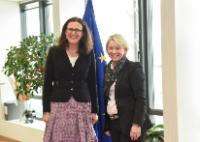 "Illustration of ""Visit of Monica Mæland, Norwegian Minister for Trade and Industry, to the EC"""