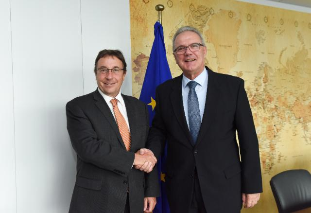 """Illustration of """"Visit of Achim Steiner, Executive Director of UNEP and Under Secretary General of the United Nations, to..."""