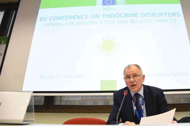 Participation of Vytenis Andriukaitis, Member of the EC, at the conference 'Endocrine disruptors: criteria for identification and related impacts'