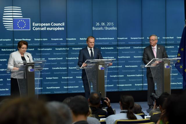Brussels European Council, 25-26/06/15