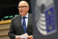 Participation of Frans Timmermans, First Vice-President of the EC, at the EP's preparation for the Brussels European Council, 25-26/06/15