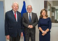 Visit of Wim Kok, former Dutch Prime Minister, to the EC