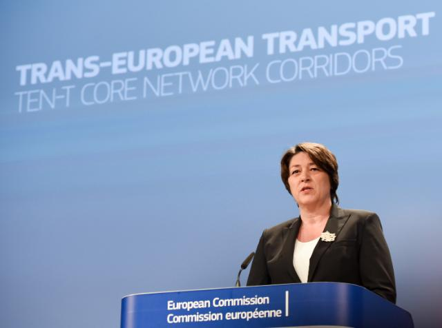 Press conference by Violeta Bulc, Member of the EC, on the presentation of the call for the Connecting Europe Facility