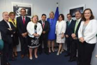 Visit to the EC of representatives of Spanish regional governments