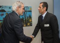 Visite d'Amer Daoudi, coordinateur régional humanitaire de l'ONU de la crise au Yémen, à la CE