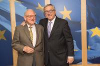 Visit of Paul Collowald, President of the Robert Schuman Association and Vice-President of the Robert Schuman European Centre, to the EC