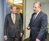 Visit of George Kvirikashvili, Georgian Vice-Prime Minister and Minister for Foreign Affairs, to the EC