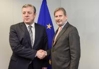 Visite de George Kvirikashvili, vice-Premier ministre géorgien et ministre des Affaires étrangères, à la CE