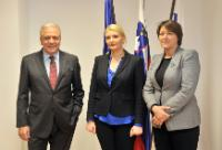 Visit by Dimitris Avramopoulos and Violeta Bulc, Members of the EC, to Slovenia