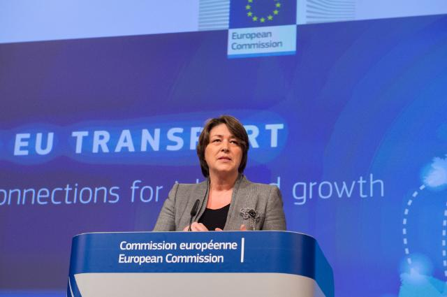 Joint press conference by Jyrki Katainen, Vice-President of the EC, and Violeta Bulc, Member of the EC, on the launch of the second call for proposals of the Connecting Europe Facility