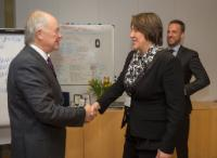 Visit of Tim Clark, President of the Emirates Airline, to the EC