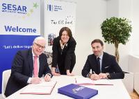 Signature of a Memorandum of Understanding to reinforce the cooperation between EIB and the SESAR project