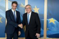 Visit of Kyriakos Mitsotakis, President of the 'New Democracy' Greek political party, to the EC