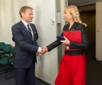 Visit of Vazil Hudák, Slovak Minister for the Economy, to the EC