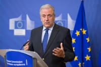 Press point by Dimitris Avramopoulos, Member of the EC, on Georgia visa liberalisation
