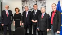 Visit of members of the 'Affairs of the European Union' Committee of the German Bundestag to the EC