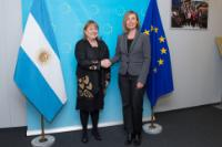 Visit of Susana Malcorra, Argentinian Minister for Foreign Affairs, to the EC