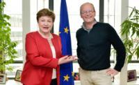Visite de Claude Turmes, membre du PE, à la CE