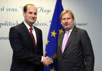 Visit of Mikheil Janelidze, Georgian Minister for Foreign Affairs, to the EC