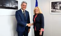 Visit of Dragoş Nicolae Pîslaru, Romanian Minister for Labour, Family, Social Protection and Elderly, to the EC