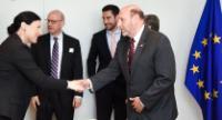 Visite de Gary P. Saltzman, président de B'nai B'rith International, à la CE