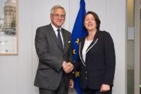 Visit of Kris Peeters, Belgian Deputy Prime Minister and Minister for Employment, the Economy and Consumers, in charge of Foreign Trade,  to the EC