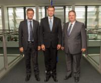 Visite d'une délégation de membres de l'Assemblée nationale française à la CE
