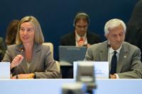 Attendance of Federica Mogherini, Vice-President of the EC, and Elżbieta Bieńkowska, Member of the EC at the Informal Defence Ministers Meeting in Bratislava