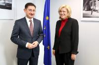 Visit of Bogdan Marius Chirițoiu, President of the Romanian Competition Council, to the EC