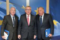Visit of Gérard Larcher, President of the French Senate, and Jean Bizet, Member of the French Senate, to the EC