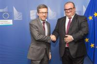 Visit of Aleksandre Jejelava, Georgian Minister for Education and Science, to the EC