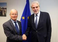 Visit of Aharon Leshno-Yaar, Ambassador of Israel to the EU and NATO, to the EC