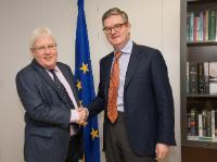 Visit of Martin Griffiths, first Executive Director of the European Institute of Peace, to the EC