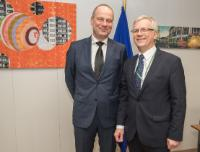 Visit of Rimantas Šadzius, Member of the European Court of Auditors, to the EC