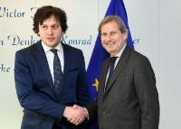 Visit of Irakli Kobakhidze, Chairman of the Georgian Parliament, to the EC
