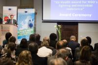 Participation of Vytenis Andriukaitis, and of Carlos Moedas, Members of the EC, in the European Health Awards ceremony
