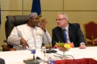 Visit by Neven Mimica, Member of the EC, to Gambia