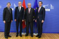Visit of Alexander Van der Bellen, Federal President of Austria, and Christian Kern, Austrian Federal Chancellor, to the EC