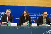 Press conference by Cecilia Malmström, Member of the EC, on CETA