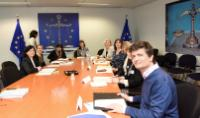 Visit of experts on Work Life Balance to the EC