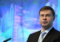 Valdis Dombrovskis, vice-président de la CE, à la conférence #FinTechEU