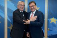 Visit of Günther Platter, Governor of Tyrol to the EC