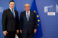 Visit of Jüri Ratas, Estonian Prime Minister, to the EC